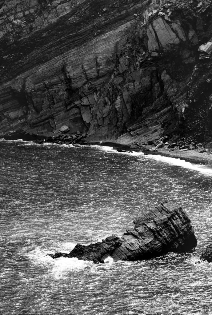 Falaise et rochers en bord de mer