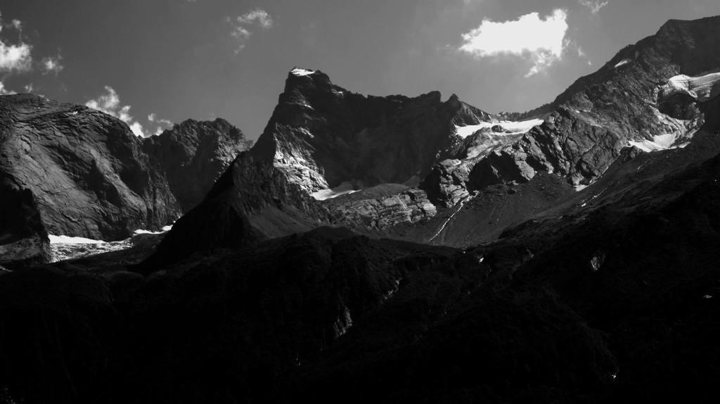 Les glaciers du parc de la vanoise, grande casse grande motte