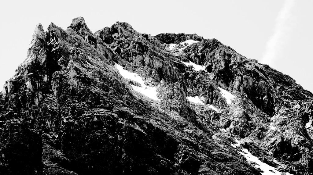 montagne rocheuse à Tignes savoie